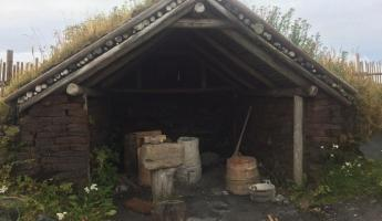 Replica of Norse forge, Norstead